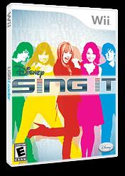 Disney: Sing It Wii cover (RUIE4Q)