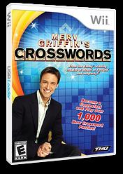 Merv Griffin's Crosswords Wii cover (RVGE78)