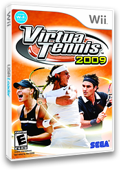 Virtua Tennis 2009 Wii cover (RVUE8P)