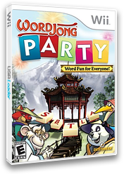 WordJong Party Wii cover (RWJENR)