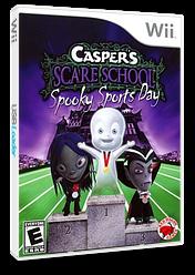 Casper's Scare School: Spooky Sports Day Wii cover (RX4E4Z)