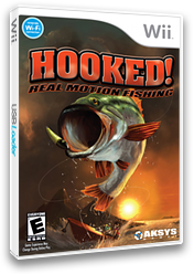 Hooked!: Real Motion Fishing Wii cover (RXPEXS)