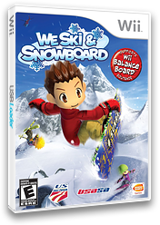 We Ski & Snowboard Wii cover (RYKEAF)