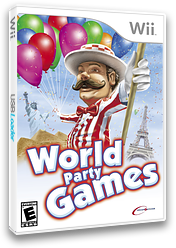 World Party Games Wii cover (RYZE6U)