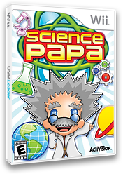Science Papa Wii cover (RZEE52)
