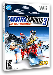 Winter Sports 3: The Great Tournament Wii cover (RZIE20)