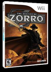 The Destiny of Zorro Wii cover (RZREGT)