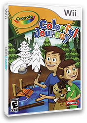 Crayola Colorful Journey Wii cover (RZUE4Z)