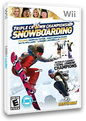 Triple Crown Championship Snowboarding Wii cover (S3CENR)