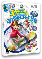 Family Party: 30 Great Games Winter Fun Wii cover (S3WEG9)