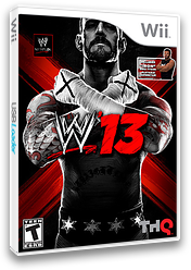 WWE '13 Wii cover (S3XE78)