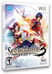 Samurai Warriors 3 Wii cover (S59E01)