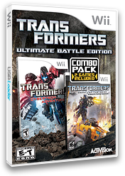 Transformers: Ultimate Battle Edition Wii cover (S7EE52)