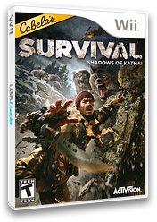 Cabela's Survival: Shadows of Katmai Wii cover (SAJE52)