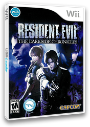 Resident Evil: The Darkside Chronicles Wii cover (SBDE08)