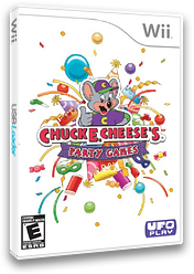 Chuck E. Cheese's Party Games Wii cover (SCEE6K)