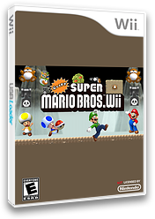 Cliff Super Mario Bros. Wii CUSTOM cover (SCLE01)