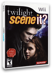 Scene It? Twilight Wii cover (SCNEA4)