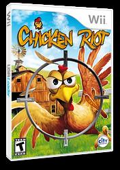 Chicken Riot Wii cover (SCREJH)