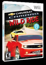 Chevrolet Camaro: Wild Ride Wii cover (SCXESZ)