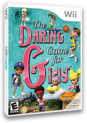The Daring Game for Girls Wii cover (SDAE5G)