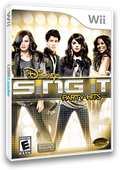 Disney Sing It: Party Hits Wii cover (SDIE4Q)