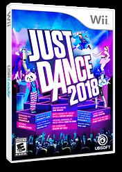 Just Dance 2018 Wii cover (SE8E41)