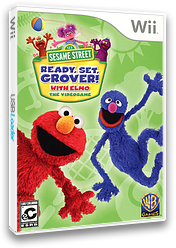 Sesame Street: Ready, Set, Grover! Wii cover (SESEWR)