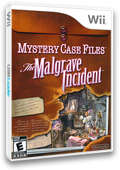 Mystery Case Files: The Malgrave Incident Wii cover (SFIE01)
