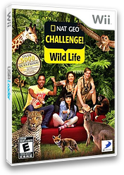 Nat Geo Challenge! Wild Life Wii cover (SGEEG9)