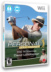 My Personal Golf Trainer with IMG Academies and David Leadbetter Wii cover (SGTEFS)