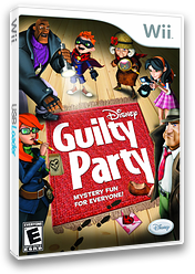 Disney Guilty Party Wii cover (SGUE4Q)