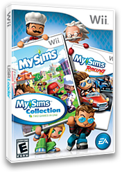 MySims Collection Wii cover (SIME69)