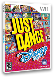 Just Dance Disney Party Wii cover (SJ6E41)
