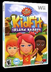 Kid Fit Island Resort Wii cover (SJFE4Z)