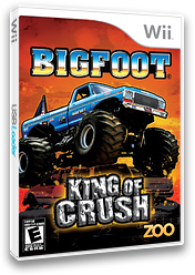 Bigfoot: King of Crush Wii cover (SKCE20)