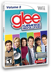 Karaoke Revolution Glee Volume 2 Wii cover (SKGEA4)