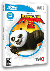 Kung Fu Panda 2 Wii cover (SKUE78)