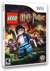 LEGO Harry Potter: Years 5-7 Wii cover (SLHEWR)
