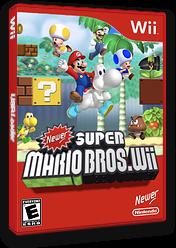 Newer Super Mario Bros. Wii CUSTOM cover (SMNE03)