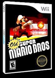 Old Super Mario Bros. Wii CUSTOM cover (SMNE09)