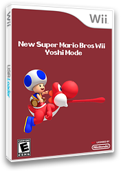 New Super Mario Bros. Wii: Yoshi Mode CUSTOM cover (SMNE34)