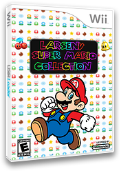 Larsenv Super Mario Collection CUSTOM cover (SMNE67)