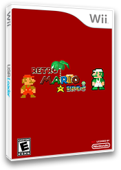 Retro Mario Bros. CUSTOM cover (SMNERE)