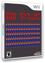 The Pit of 100 Trials 1-20 CUSTOM cover (SMNEZP)