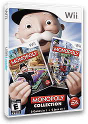 Monopoly Collection Wii cover (SMPE69)