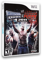 WWE SmackDown vs. Raw 2011 Wii cover (SMRE78)
