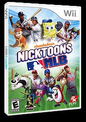 Nicktoons MLB Wii cover (SNIE54)