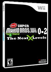 New Super Mario Bros. Wii 0-2 Next Generation Levels CUSTOM cover (SNLE01)