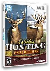 Cabela's Hunting Expeditions Wii cover (SOAE52)